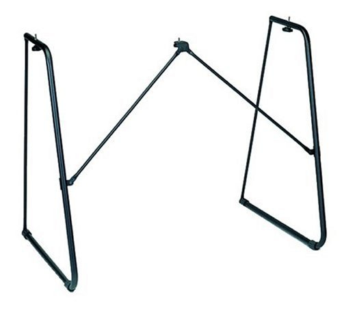 Yamaha L-2C Fixed-Height Keyboard Stand in Black finish