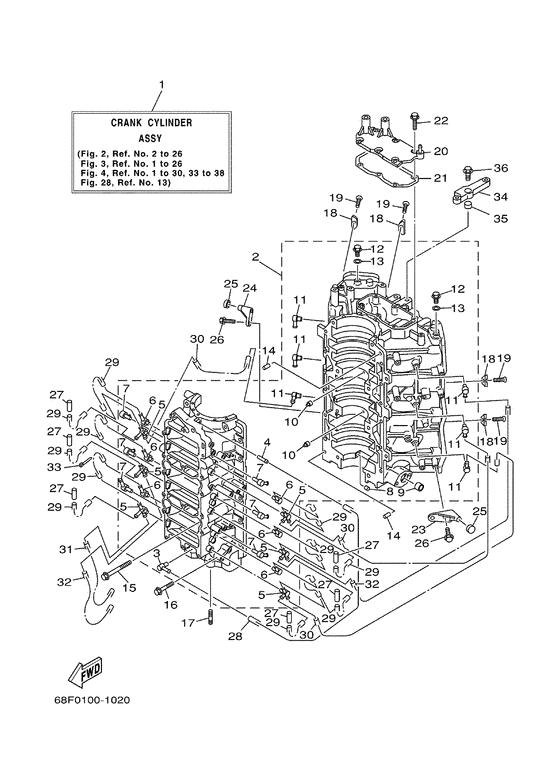 Yamaha spare parts / Z150 ETOL/XL Z150Q, (V-Max) (68J