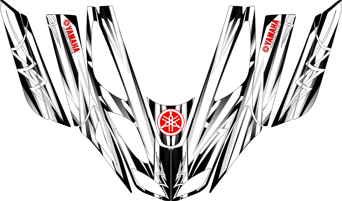 Sled Wraps & Graphics for Yamaha Mountain Max & SX-R
