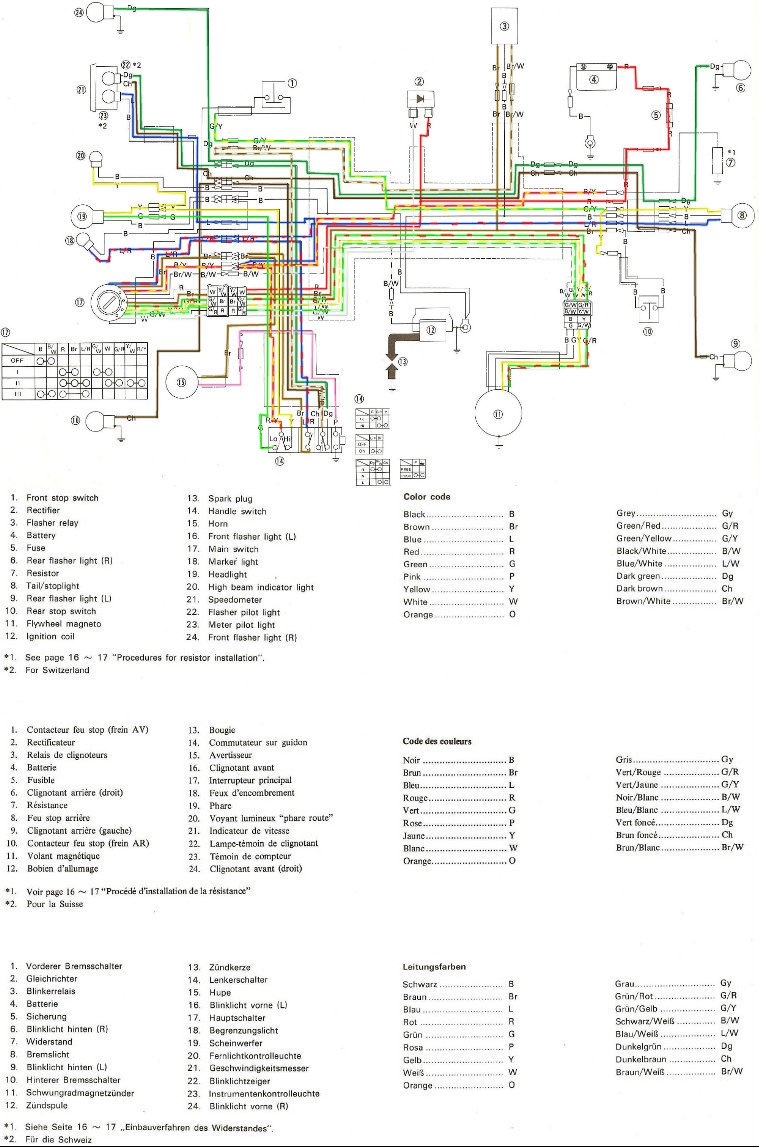 medium resolution of yamaha ty 125 et 175 wiring diagram rh yamahaty com 1979 yamaha dt 125 wiring diagram 1979 yamaha dt 125 wiring diagram