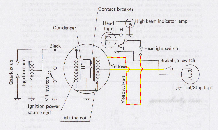 Yamaha Ignition Switch Wiring Diagram Ignition Starter