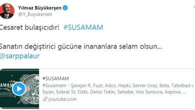 SUSAMAM isimli rap şarkıyı destekleyenler