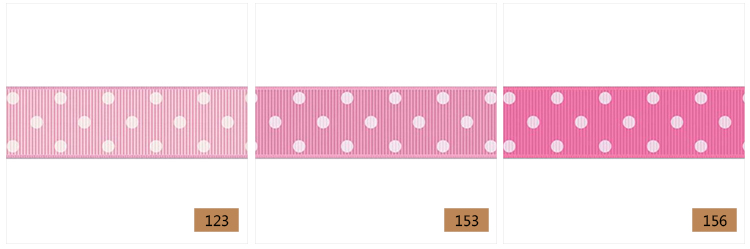 yama ribbon grosgrain ribbon 3 dots