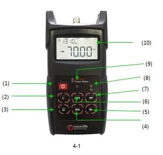 Optical Power Meter Keypad
