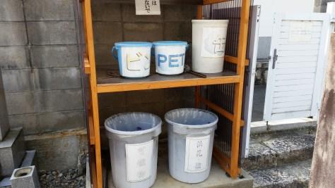 ゴミ置き場も分別されていていつも綺麗にされています