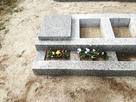 西安霊苑 花葬の見本