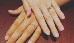 結婚指輪「俄」を購入のU様。