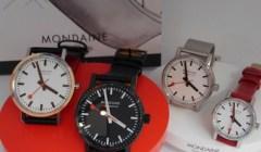 MONDAINE  -swiss watch-
