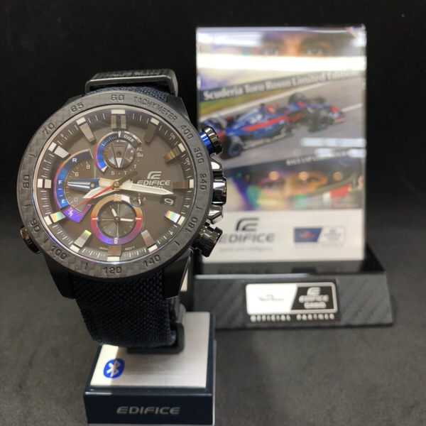 腕時計 Casio edifice red bull team トロ・ロッソ