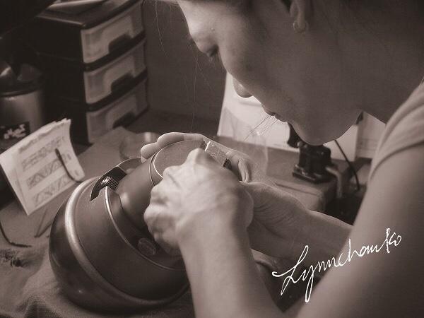 makana 結婚指輪 彫り師