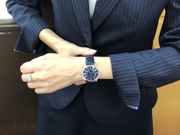 腕時計 OMEGA デヴィル トレゾア