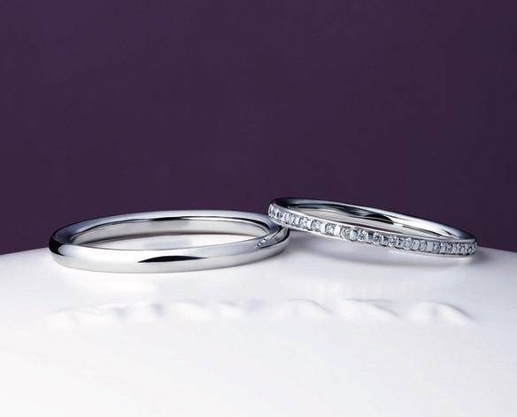 ブライダルリング 結婚指輪 マリッジリング 俄 かれん