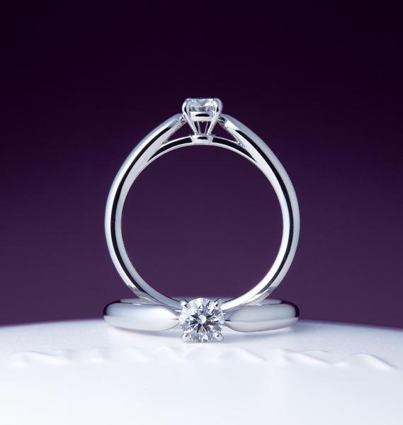ブライダルリング 婚約指輪 エンゲージ 俄 花咲