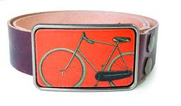 Flight Path belt buckle, available at Migration Boutique. $40