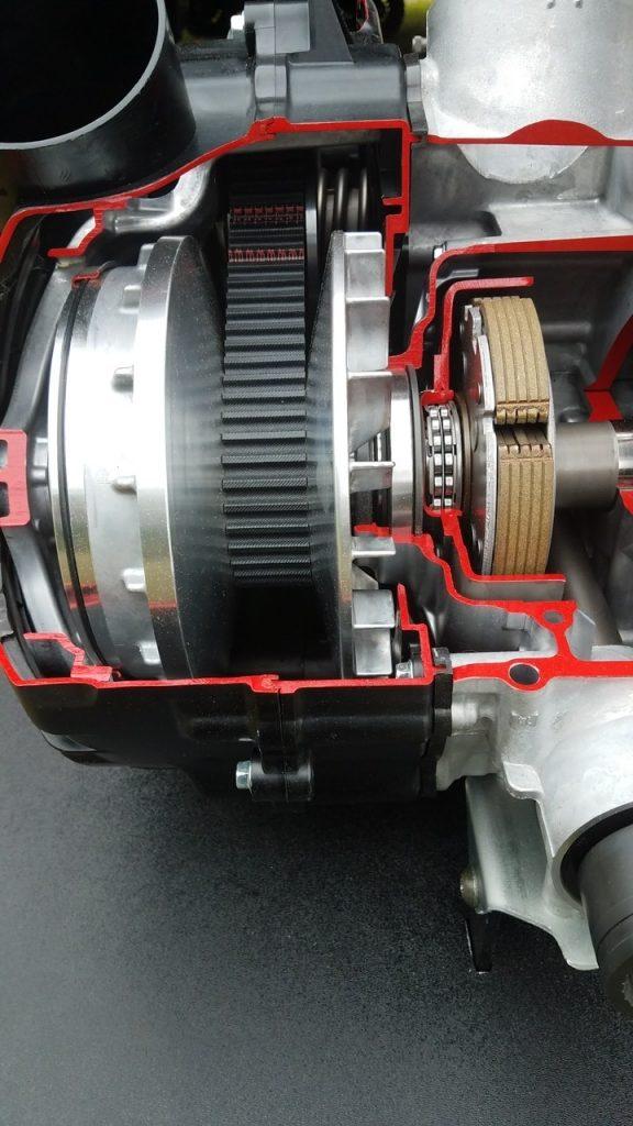 Cutaway image of X2 Ultramatic Transmission