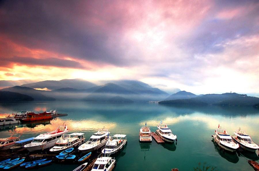 Shuttle Boats (Sun Moon Lake)