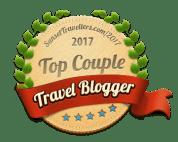 Top Couple Travel Bloggers Badge Award