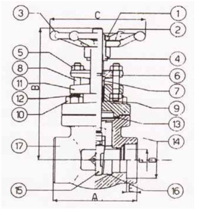 1 Gate Valve Dimensions Gate Valves 4 300 Wiring Diagram