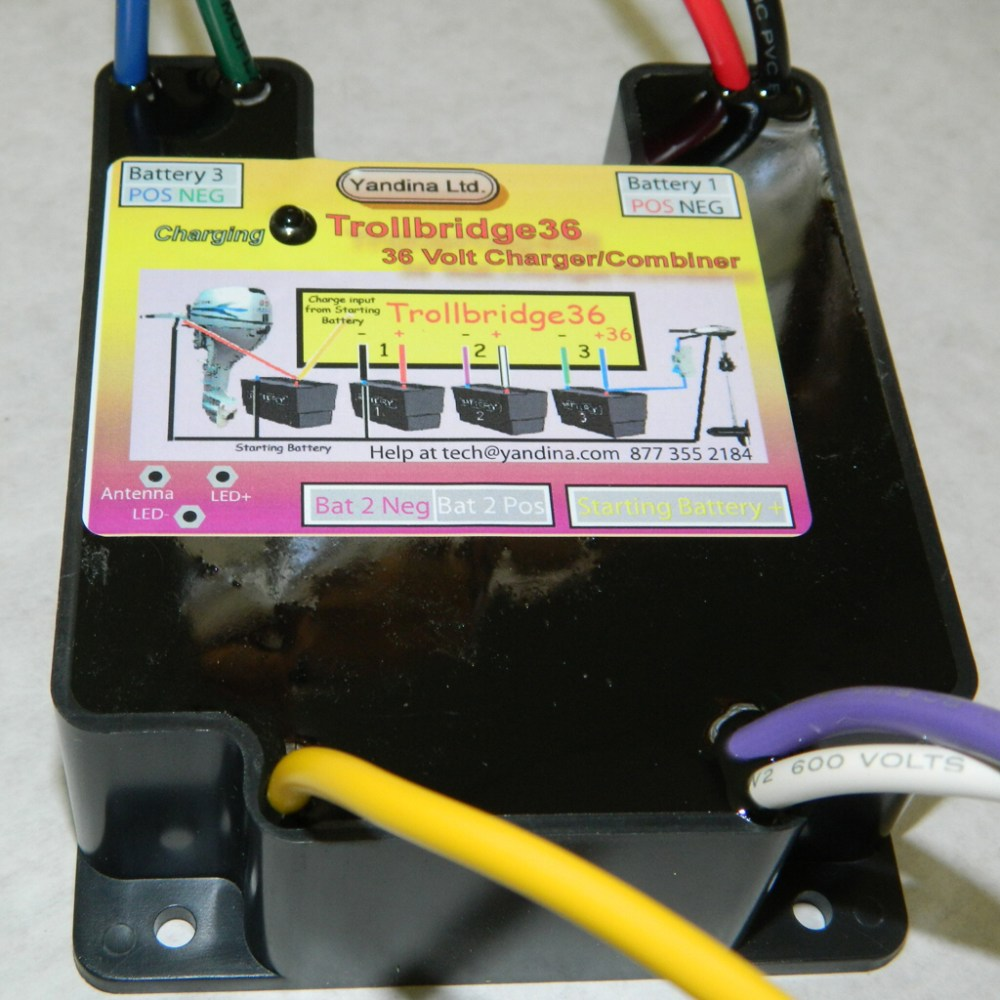 medium resolution of wiring diagram with trolling motor 36 volt charger