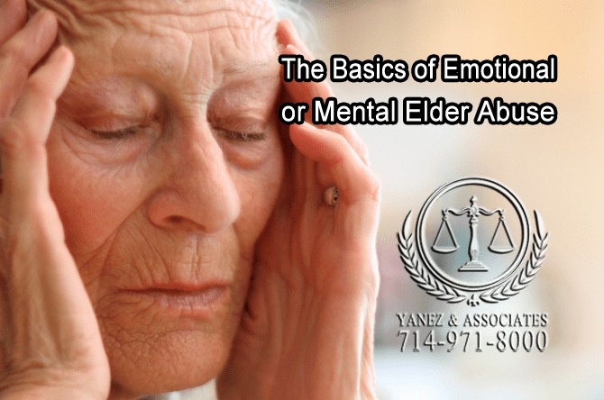 Elder Abuse Signs and Symptoms in OC California