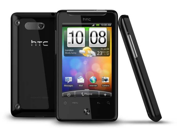 HTC Gratia; Dengan flip-to mute a call