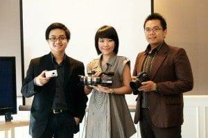 Sony luncurkan Handycam VG10E, Cybershot WX5, Alpha A33 dan A55 1