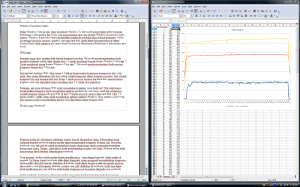 OpenOffice Writer dan OpenOffice Calc adalah word processor dan spreadsheet open source untuk Windows, Linux dan MacOS X.