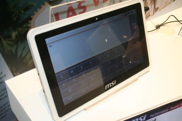 [CES 2010] MSI WinPad 100A: Tablet yang Mengusung Gingerbread