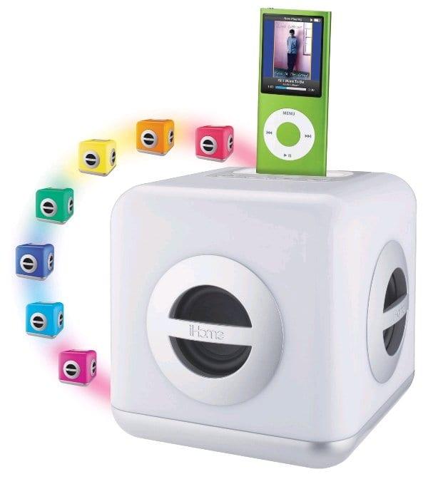 iHome iH15 LED : iPod Dock Ceria dengan Subwoofer