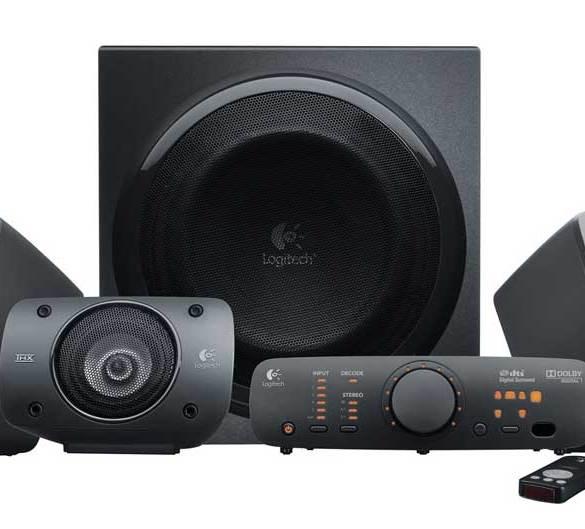 Logitech Z906: Speaker 5.1 Channel dengan Sertifikasi THX 10