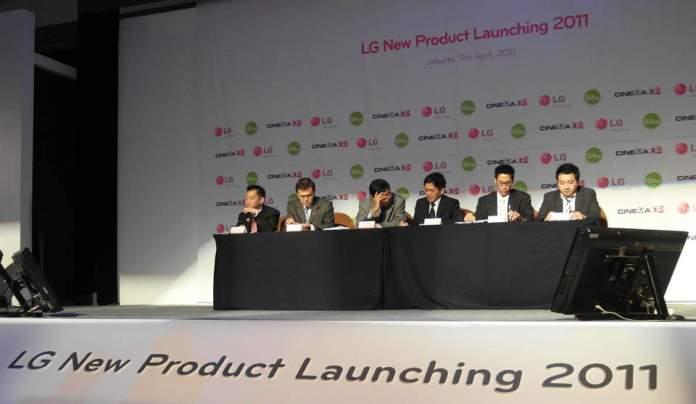 Jajaran Produk Rumahan Inovatif dari LG untuk 2011