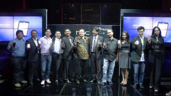 Sensasi Baru Smartphone Android HTC Resmi di Indonesia