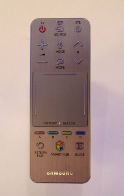 remote samsung with touchpad