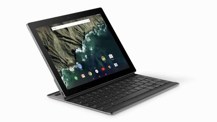 Google Pixel C tablet keyboard