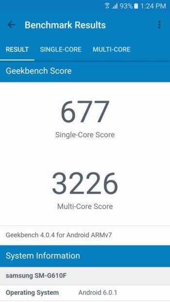 Samsung Galaxy J7 Prime Geekbench 4 (1)