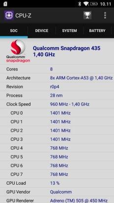 Lenovo K6 Power CPU Z (1)