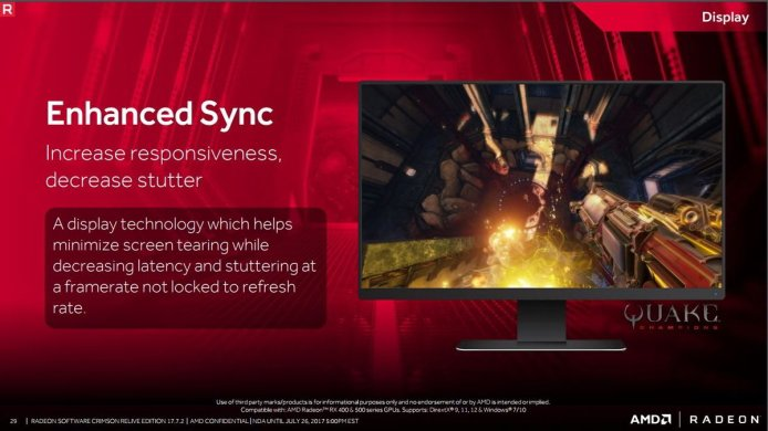 AMD Umumkan Teknologi Enhanced Sync