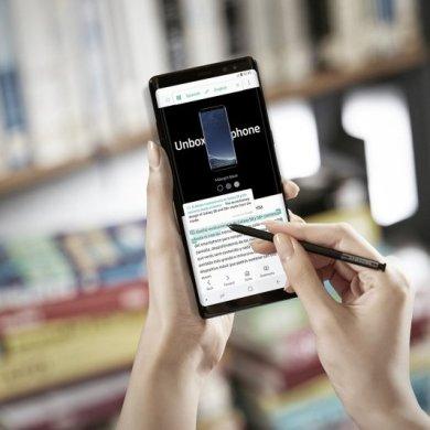 Galaxy Note8 S Pen Translate 1