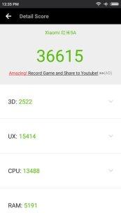 Xiaomi Redmi 5A Antutu