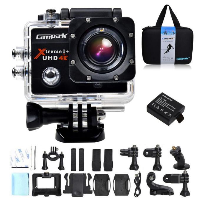 Campark ACT74, Action Camera 4K dan Aksesoris Lengkap dengan Harga Sangat Terjangkau 2