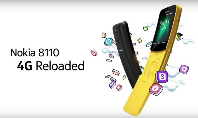 [MWC 2018] Nokia 8110 Lahir Kembali dengan Koneksi 4G dan OS Baru