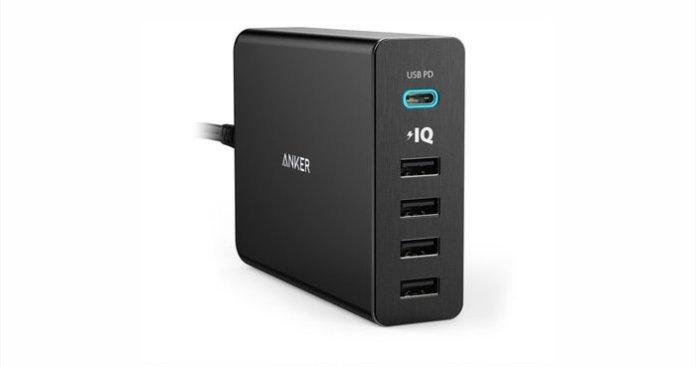 Anker Power Port 5+ USB-C: Port Charger dengan Teknologi Power IQ 1