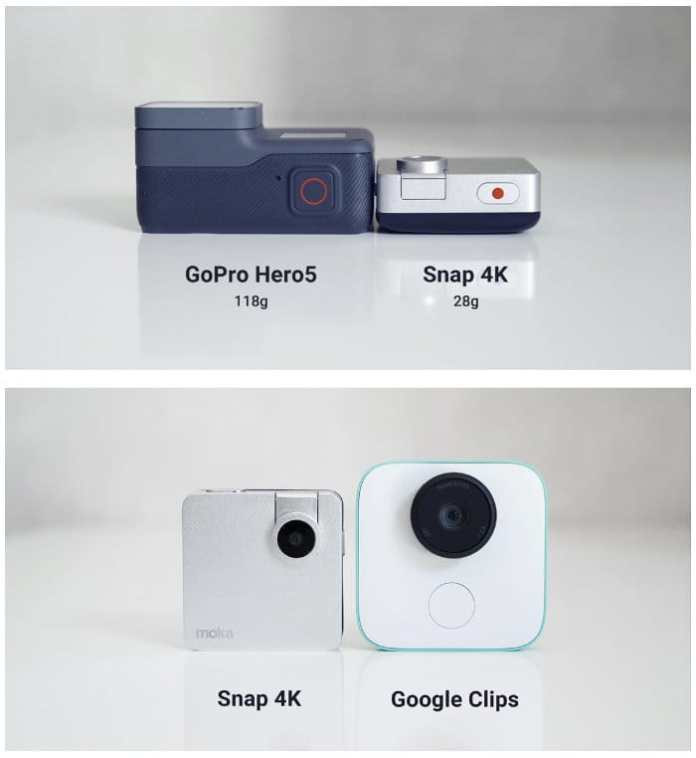 Mokacam Snap: Kamera Aksi 4K Terkecil di Dunia 2