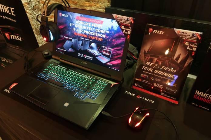 MSI Luncurkan Rangkaian Laptop Gaming dengan Prosesor Intel Coffee Lake 2