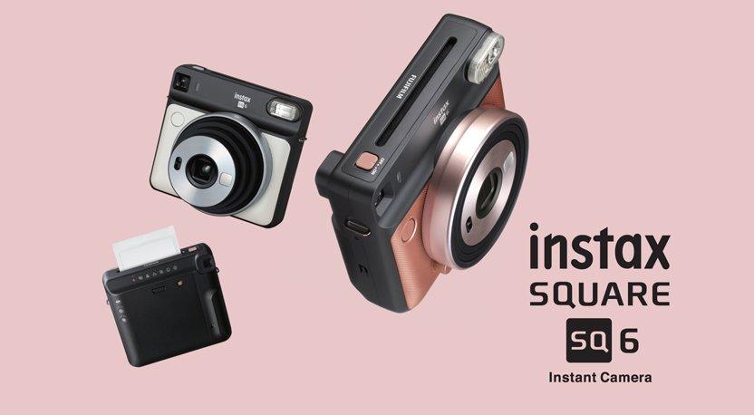 Fujifilm SQ6: Kamera Instax Analog Pertama di Dunia dengan Format Film 1:1
