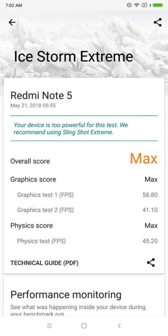 Redmi Note 5 3D Mark (1)