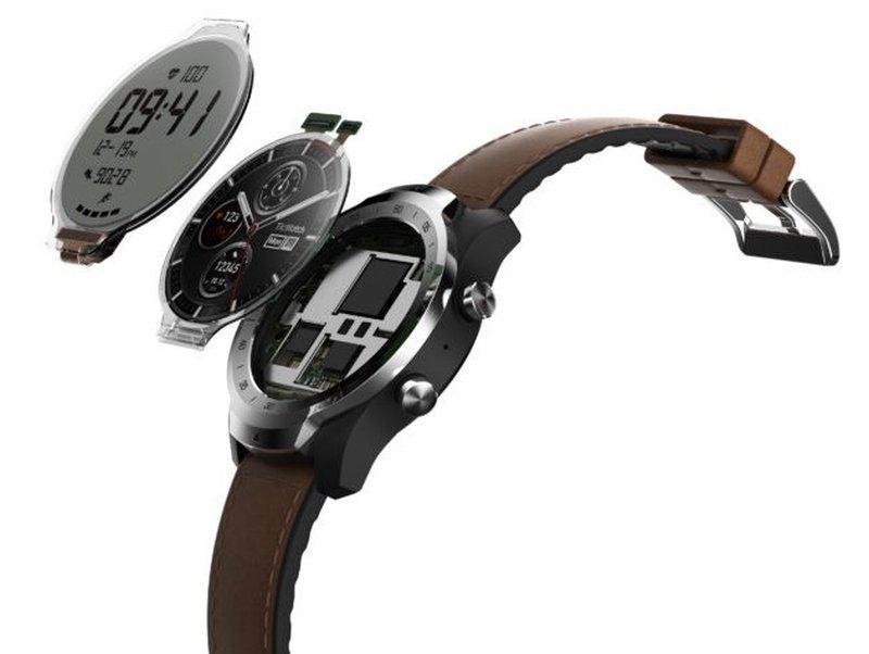 Panel layar LCD monokrom tersebut akan terlihat seperti jam tangan digital  biasa namun dengan tambahan informasi seperti jumlah langkah kaki 2c1193b4bb