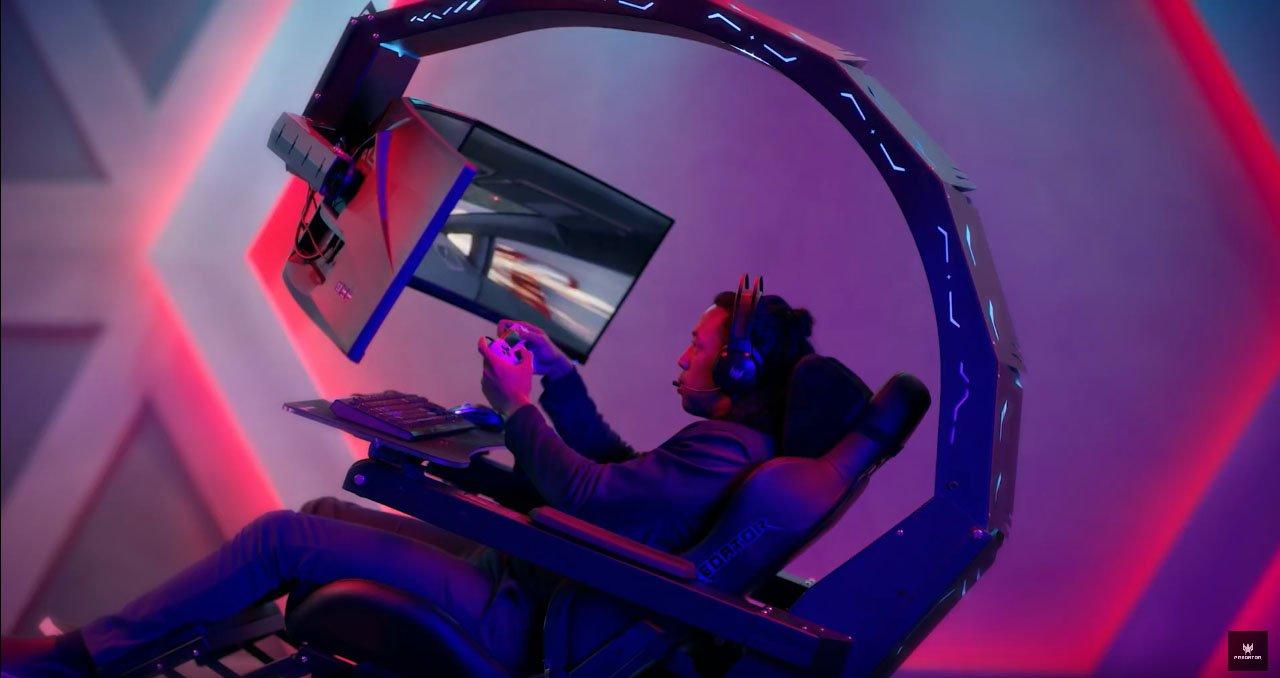 acer-predator-thronos-kursi-gaming-canggih-yang-bisa-dipasang-3-monitor-sekaligus