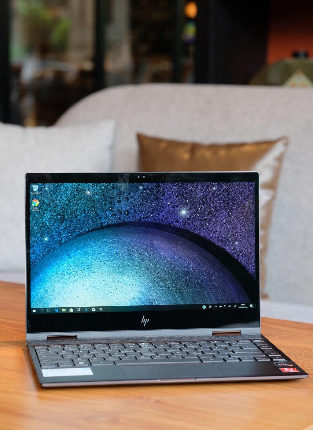 Hands On Mencermati Hp Envy X360 13 Laptop Ryzen Mobile Convertible 13 Inci Berdesain Premium 2 In 1 Notebook 19 August 2018