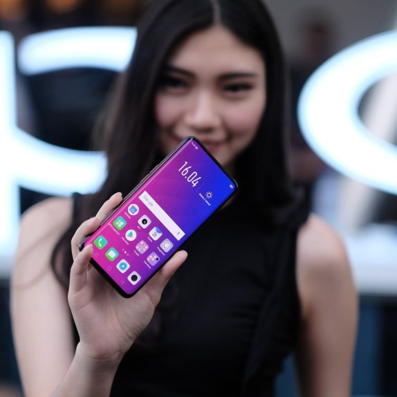 oppo find x screen